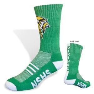ispace printing appearel branded socks