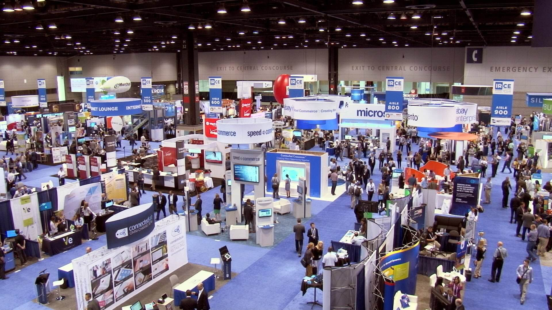 What makes a good trade show display?