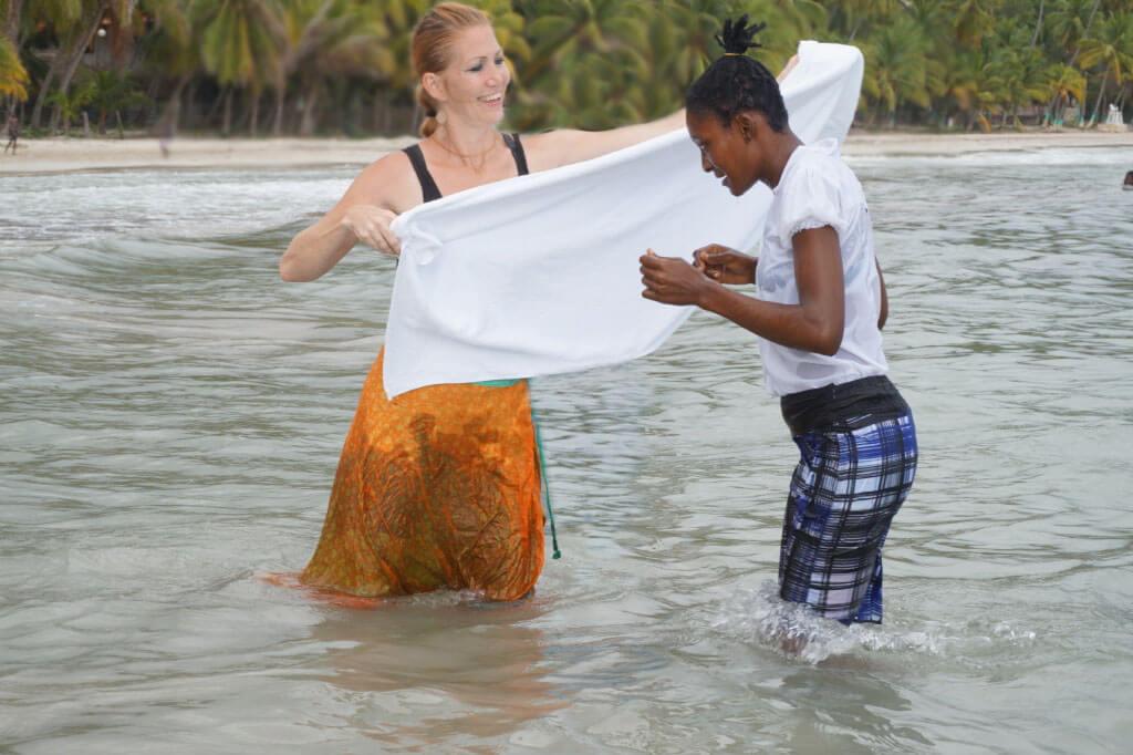 Haiti in the water